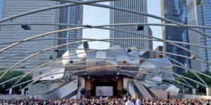 Pritzker Pavilion Chicago Millenium Park