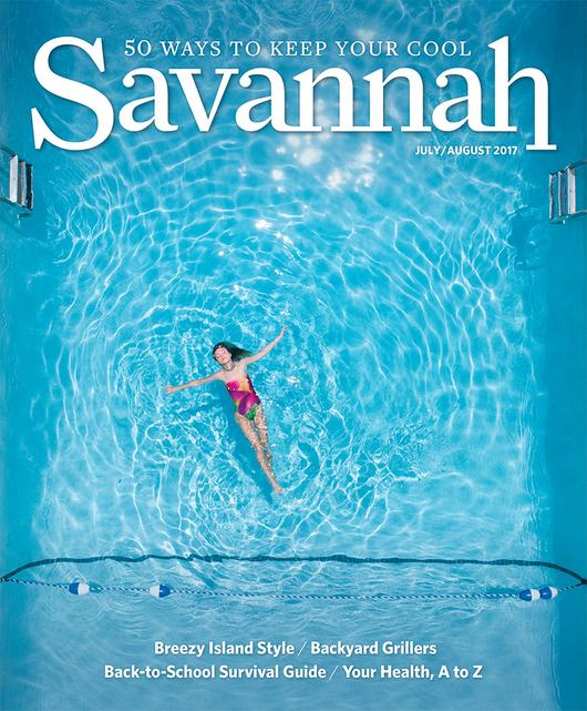 Savannah magazine July August 2017
