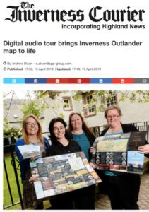 Outlander Audio Tour in The Inverness Courier