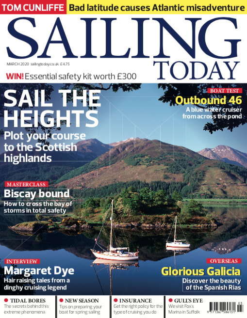 Sailing Today March 2020 Cover